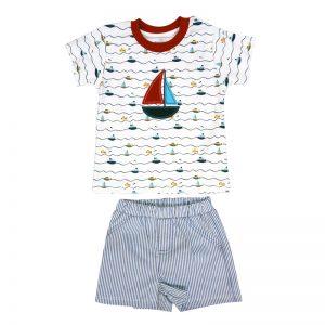 TEX Conjunto Camiseta y Culet/ín de Ba/ño para Beb/é